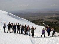 Turider üyeleri Derbent Aladağ'da