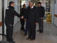 Başkan Belgemen'den Emniyet'e, Polis Haftası Ziyareti