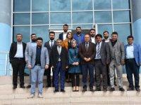 Genç Girişimci Kurulu Bülent Saklav'ı ziyaret etti.