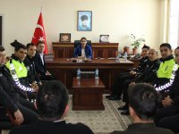 Kaymakam Karaalioğlu polis haftasını kutladı