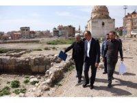 Başkan Kavuş kentsel dönüşüm alanında incelemelerde bulundu