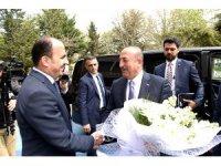 Dışişleri Bakanı Çavuşoğlu'ndan büyükşehire ziyaret
