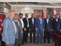 Mehmet Hançerli'den Başkan Belgemen'e ziyaret