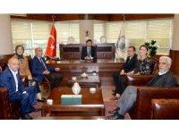 AK Parti İl Teşkilatı'ndan Başkan Kılca'ya ziyaret