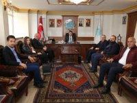 Belediye Başkanı Evren Dinçer'e hayırlı olsun ziyaretleri devam ediyor