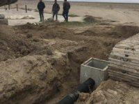 Yeşiltömek Köyü kanalizasyon onarım işi tamamlandı