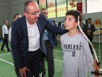 """Meram Belediye Başkanı Mustafa Kavuş: """"Spor yatırımları ve gençlik projeleri bizim için çok değerli"""""""