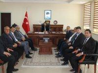 Tarım Heyetinden Kaymakam Karaalioğlu'na ziyaret