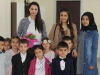 Kaymakam Karaalioğlu'nun minik misafirleri