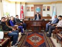 Aktürk ve yönetiminden Dinçer'e ziyaret