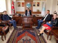 İnova Hastanesi üyelerinden Başkan Dinçer'e ziyaret