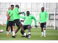 Atiker Konyaspor, Alanyaspor hazırlıklarını sürdürdü