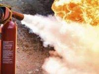 Konya'da mobilya tekstil atölyesinde yangın