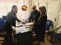 Aksaray'da yamaç paraşütü kayıtları devam ediyor