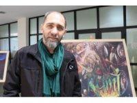 Emniyet müdürü ve sanatçı Sula'dan konferans ve sergi açılışı