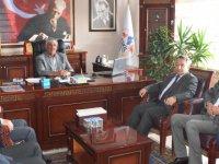 İl Genel Meclisi Başkanı Tüzün'den Başkan Belgemen'e ziyaret