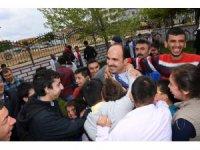 Başkan Altay, özel çocuklarla buluştu