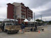 Beyşehir'de öğretmenevi kavşağına sinyalizasyon sistemi kuruluyor