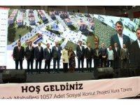 Bakan Kurum TOKİ sosyal konut kura törenine katıldı