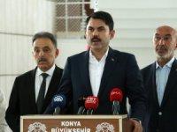 Bakan Murat Kurum belediye başkanlarıyla bir araya geldi