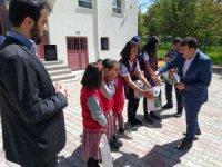 Derebucak'ta okuma projesinde yılsonu etkinliği düzenlendi