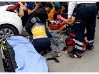 Kalp krizi geçiren adama, acilden koşup gelen doktor müdahale etti