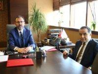 Aksaray Milletvekili Aydoğdu'nun  Gençlik ve Spor Bakanı Kasapoğlu'na ziyareti