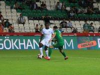 Spor Toto Süper Lig: Konyaspor: 0 - Akhisarspor: 0 (Maç sonucu)