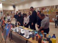 Yunak'da resim sergisi açıldı