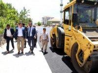 Aksaray'da Kurtuluş anayoluna asfalt…