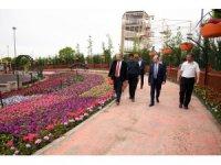 Konya'nın en renkli bahçesi bayramda kapılarını ziyaretçilerine açıyor