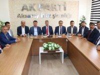 AK Parti ailesi bayramlaşma töreninde buluştu