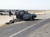 Aksaray'daki kazada 1 kişi hayatını kaybetti