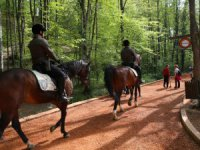 Belgrat Ormanlarına atlı koruma