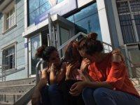 Dilencilerden genç iletişimcilere saldırı