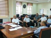 AK Parti Belediye Meclis Üyelerinden Kaymakam Karataş'a hayırlı olsun ziyareti