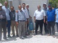 Eskil Belediyesi'nden Eşmakaya'ya 10 Tonluk Tatlı Su Deposu