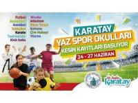 Karatay Yaz Spor Okullar için kesin kayıtlar başlıyor