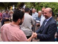 Başkan Pekyatırmacı vatandaşlarla bir araya geldi