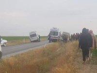 Eskil'de Trafik Kazası: 1'isi Ağır 8 Yaralı