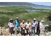 Beyşehir Gölü Milli Parkındaki en uygun yürüyüş ve bisiklet güzergahları tespit ediliyor