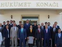Aksaray Valisi Ali Mantı Eskil'i Ziyaret Etti VİDEO