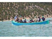 """Beyşehir Gölü'nde """"Sudak Balığı"""" yakalama yarışması"""