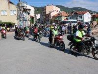 Konya'da Geleneksel Köprülü Kanyon Motosiklet Gezisi coşkusu