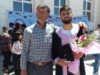 Öğütçü ailesinin mezuniyet mutluluğu