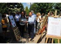 Akşehir'de 11 adet sanat sergisi açıldı