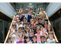 Başkan Kavuş, Meram Yaz Kurslarının misafiri oldu