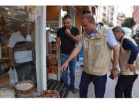 Aksaray'da kuruyemiş satan işyerleri denetlendi