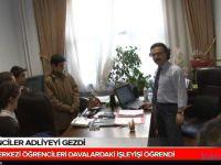 Bilgi Merkezi öğrencileri Konya adliyesi'ni Ziyaret Etti