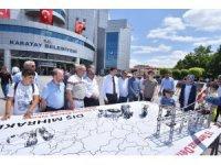 Karatay Belediyesi 15 Temmuz'u fotoğraf sergisi ve kan bağışı kampanyasıyla andı.